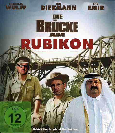 die Brücke am Rubikon